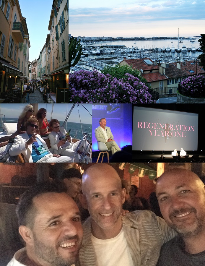 Cannes Virgins day four collage