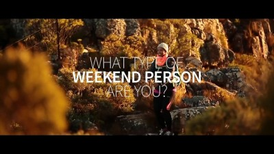 Cape Town Tourism Hello Weekend microsite: What type of weekend person are you?