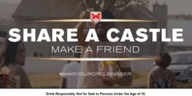 Castle Lager: Share a Castle, make a friend #makeyourcirclebigger