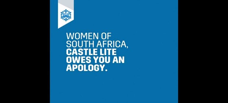 Castle Lite apology