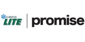 Castle Lite logo and Promise logo
