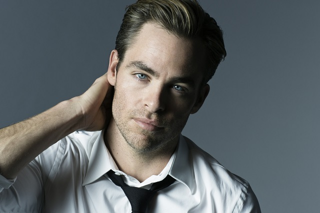 Chris Pine, the new face of Armani Code