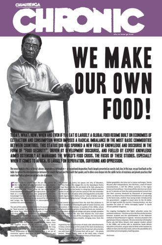 Chronic, Issue 17, September 2017 - Robert Mugabe