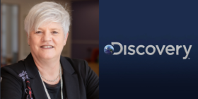 Claire O'Neil and Discovery Inc logo