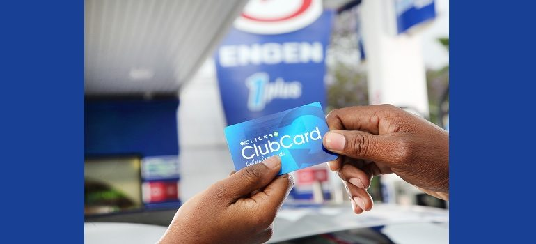 Clicks Clubcard and Engen