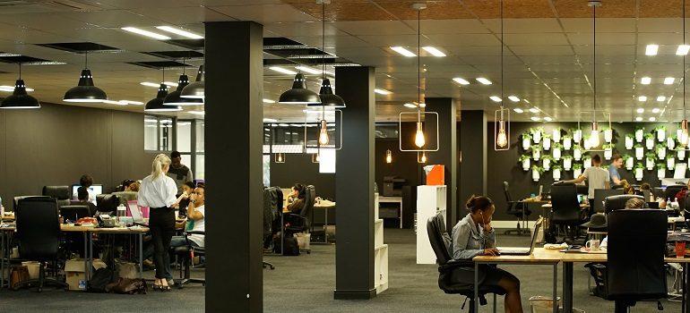 Clockwork office interior