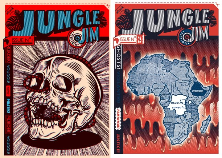 Collage - Jungle Jim, issues 1 and 26