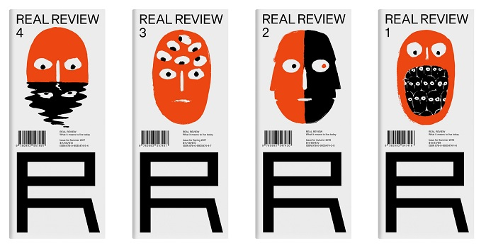 Collage - Real Review, Issue 4, September 2017 plus issues 1, 2 and 3