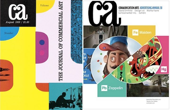 Computer Arts, Volume 1, Issue 1 and Communications Arts, November/December 2017
