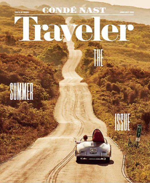 Conde Nast Traveler, June/July 2016