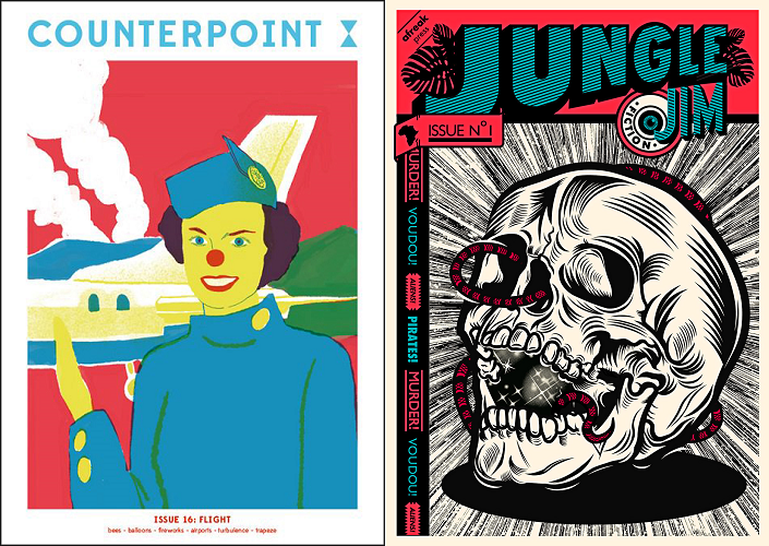 Counterpoint, issue 16, 2018 and Jungle Jim, issue 1