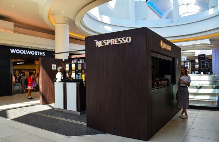Cresta Nespresso booth