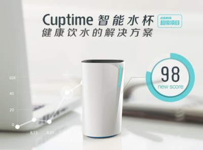 Cuptime smart glass project poster