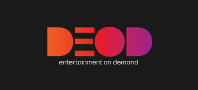 Digital Entertainment On Demand (DEOD) logo