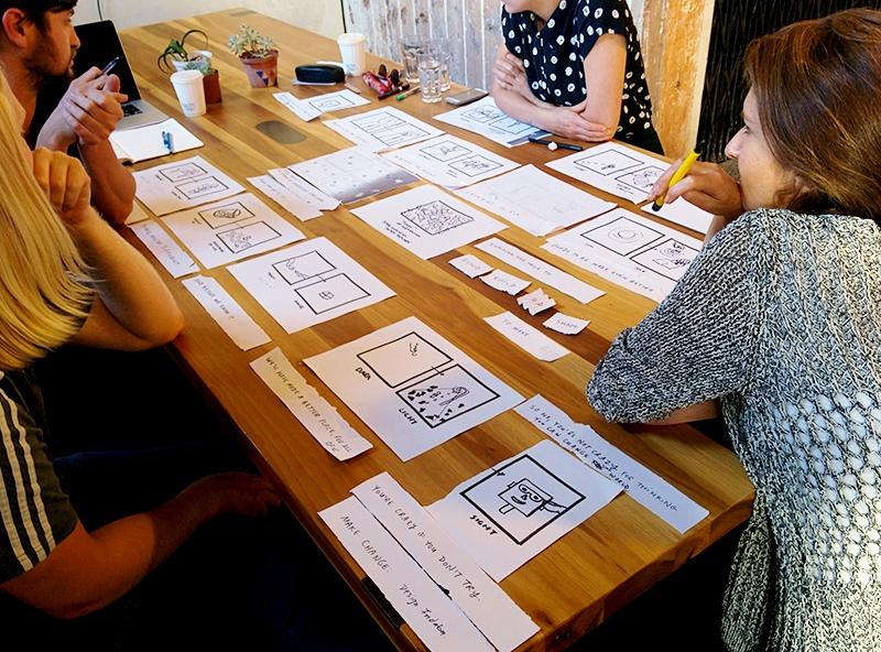 Design Indaba 2015 campaign: TV process