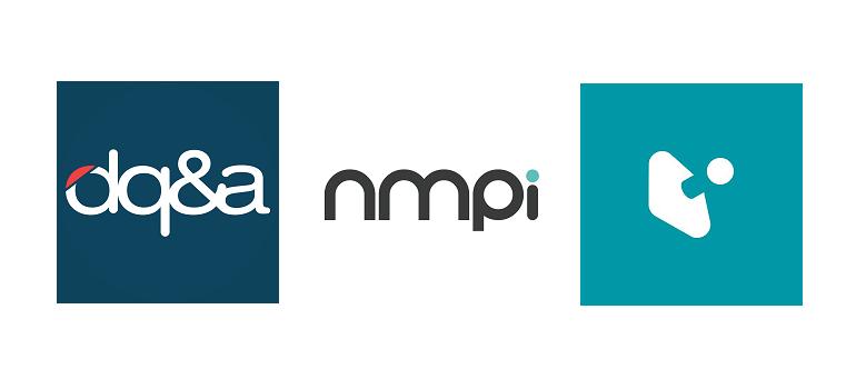 DQ&A, NMPi and Joystick logos