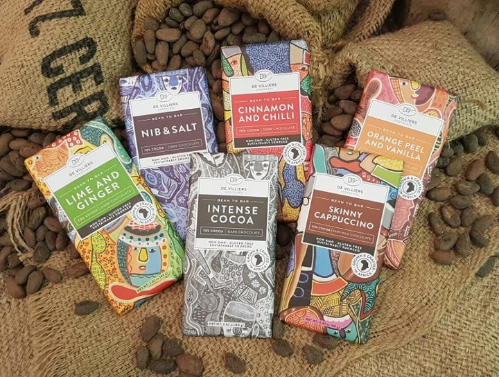 De Villiers Chocolate African Collection now available internationally