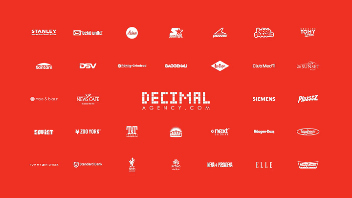 Decimal agency and clients