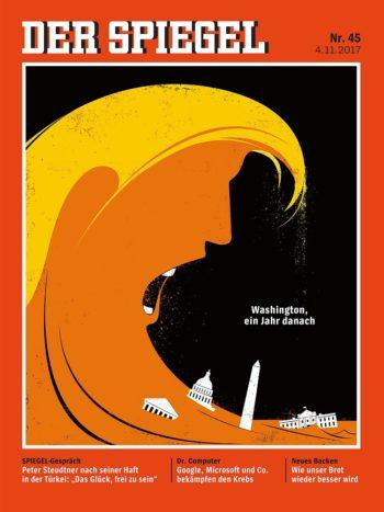 Der Spiegel, No 45, 4 November 2017 - Donald Trump