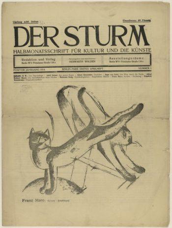 Der Sturm, volume 1 issue 1, 1914