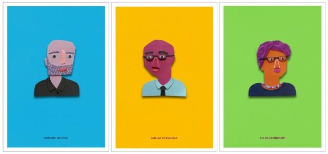 Design Indaba 2015 postcards of speakers