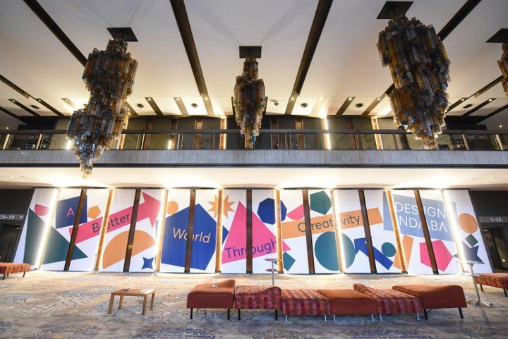 Design Indaba 2019 campaign theme at Artscape Theatre
