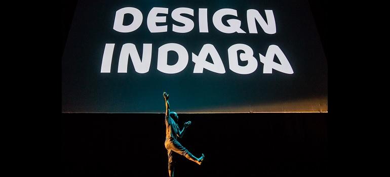 Design Indaba 2019 dancing typography