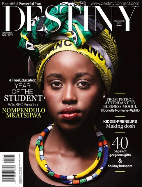 Destiny, December 2015: Nompendulo Mkhatshwa aka Ulo