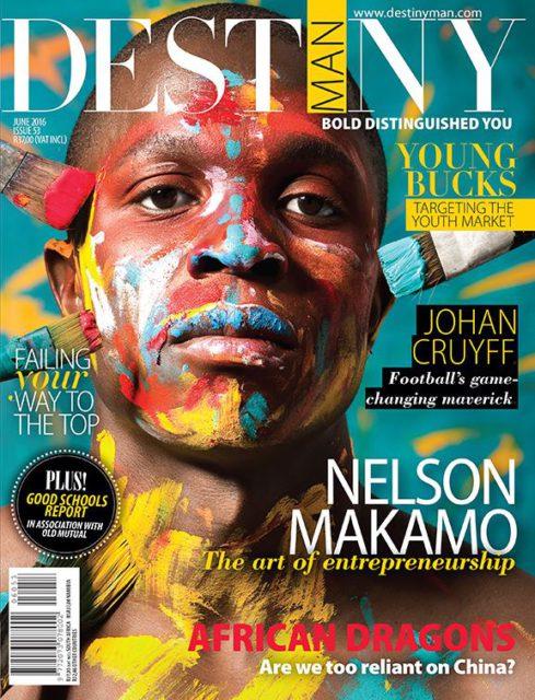 DESTINY Man, June 2016: Nelson Makamo