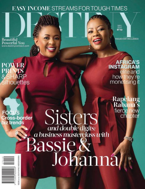 Destiny, May 2017 - Bassie Kumalo and Johanna Mukoki