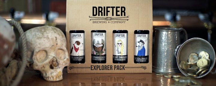 Drifter Brewing Company explorer pack