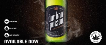 Durban Poison Cannabis Lager via Facebook cover image