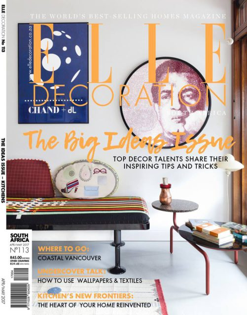 ELLE Decoration (South Africa), April/May 2017