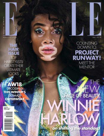 ELLE South Africa, May 2018 - Winnie Harlow
