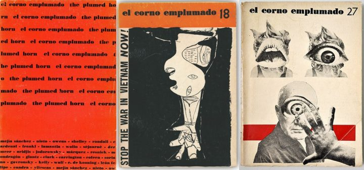 El Corno, issue 1 1962, issue 18 1962 and issue 27 1962