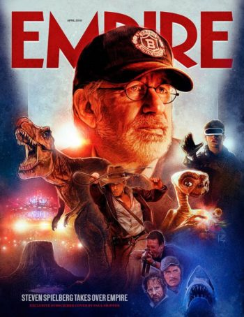 Empire, April 2018 - Steven Spielberg