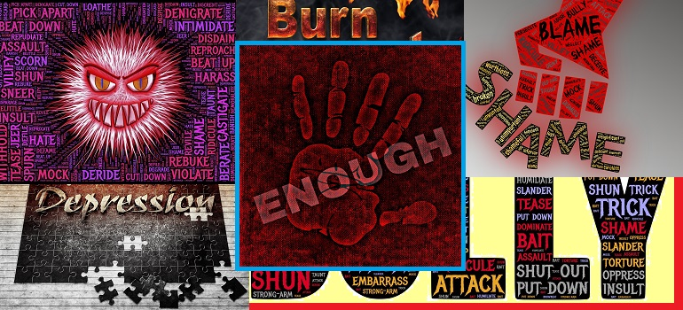 MarkLives: Enough with bullying collage