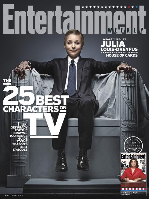 Entertainment Weekly, 15 August 2014: Julia Louis-Dreyfus