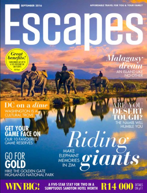 Escapes, September 2016