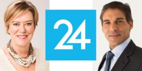 Esmaré Weideman, Media24 logo and Ishmet Davidson