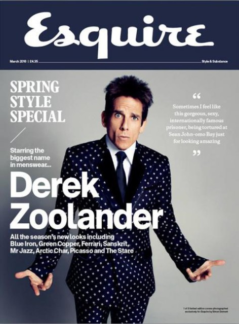 Esquire (UK), March 2016