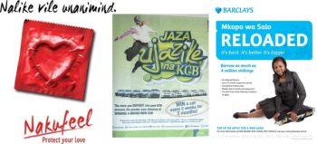 Examples of Kenyan ads using sheng