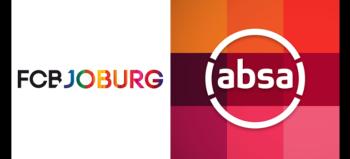 FCB Joburg logo and Absa logo
