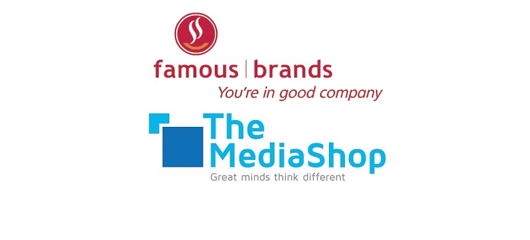 Famous Brands logo and The MediaShop logo