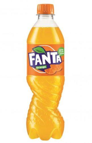 Fanta spiral bottle