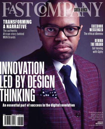 Fast Company South Africa, February 2018 - Zibusiso Mkhwanazi