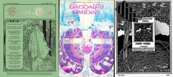 Fiddler's Green issue 4 June 2017, Gandalf's Garden and Century Guild Hobby Horse