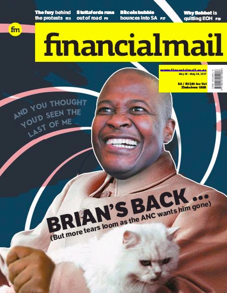Financial Mail, 18 May 2017 - Brian Molefe