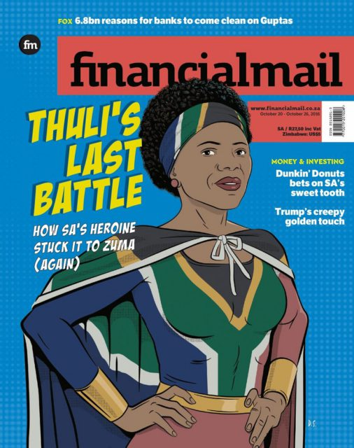 Financial Mail, 20 October 2016: Thuli Madonsela