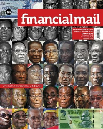Financial Mail, 23-29 November 2017 - Robert Mugabe